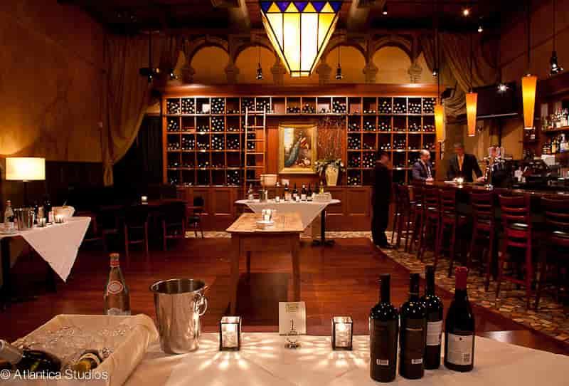 full wine room