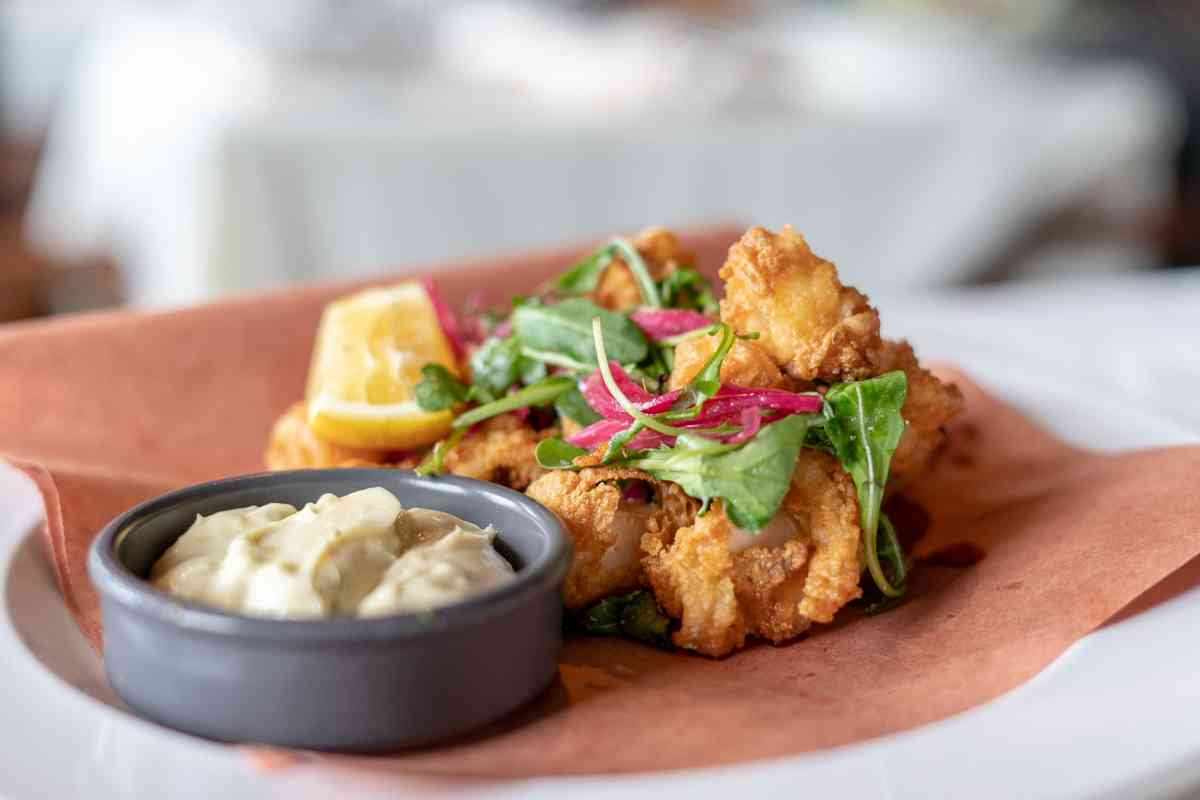NEW, OLD FRIED CALAMARI