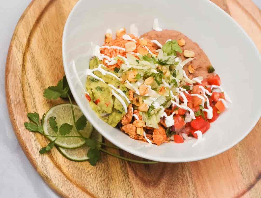 Los Agaves Taco Bowl (Gluten Free)