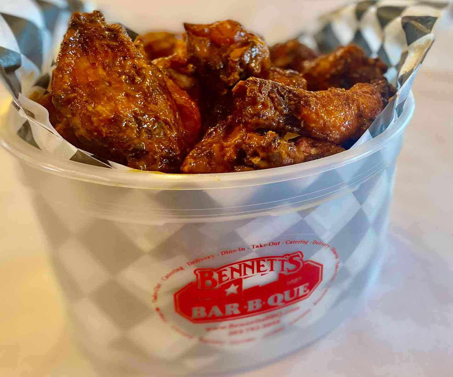 Bucket O' Hickory Smoked Chicken Wings