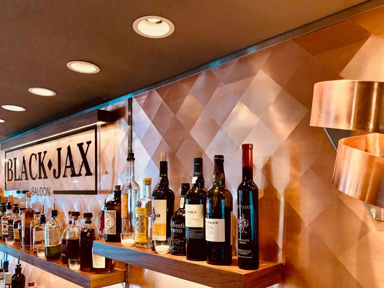 Photo of bar at Black Jack Saloon