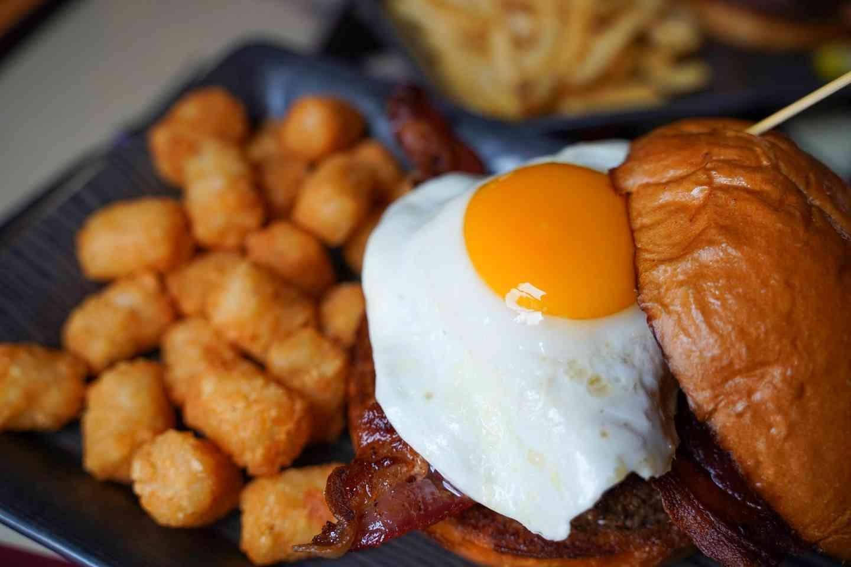 Bubbas Breakfast Burger*