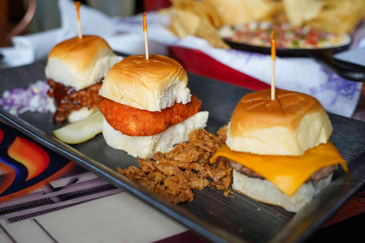 Triple Play Sliders