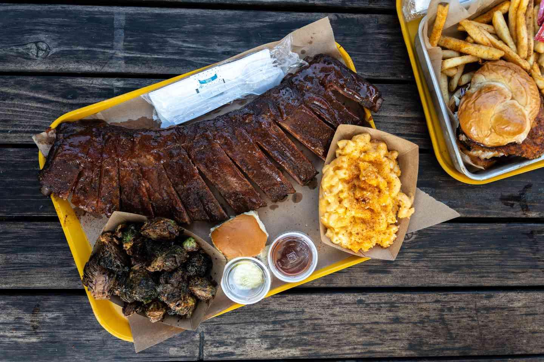 full rack ribs