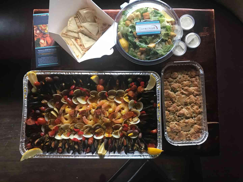 Seafood Paella Family Meal