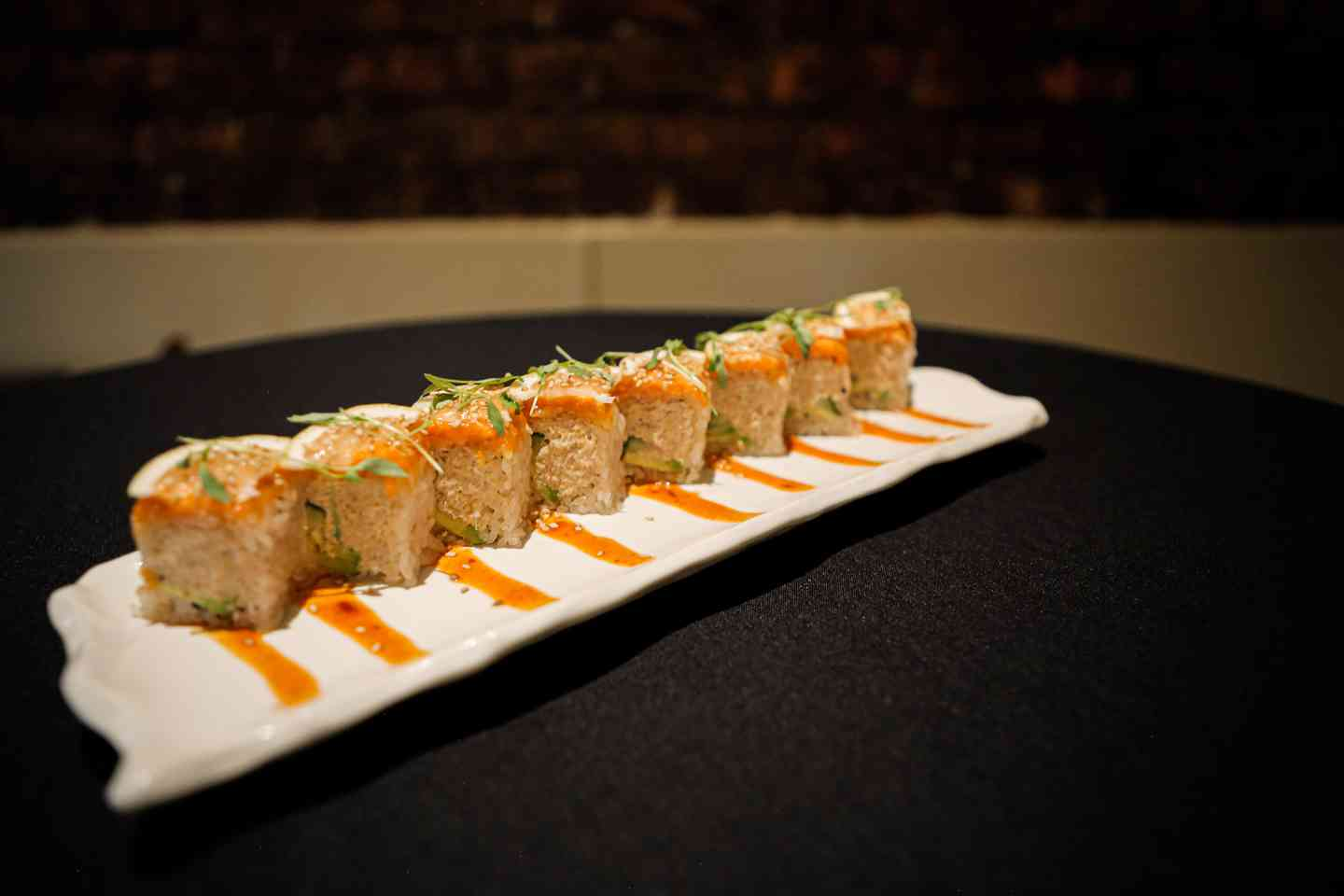 Spicy Citrus Salmon Roll
