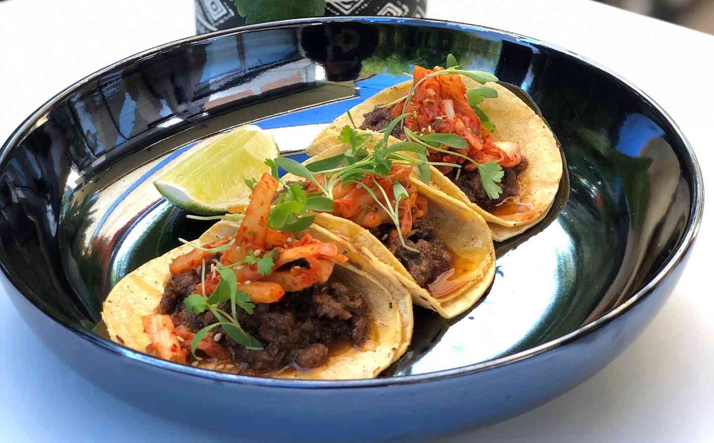 Bulgogi Beef Tacos