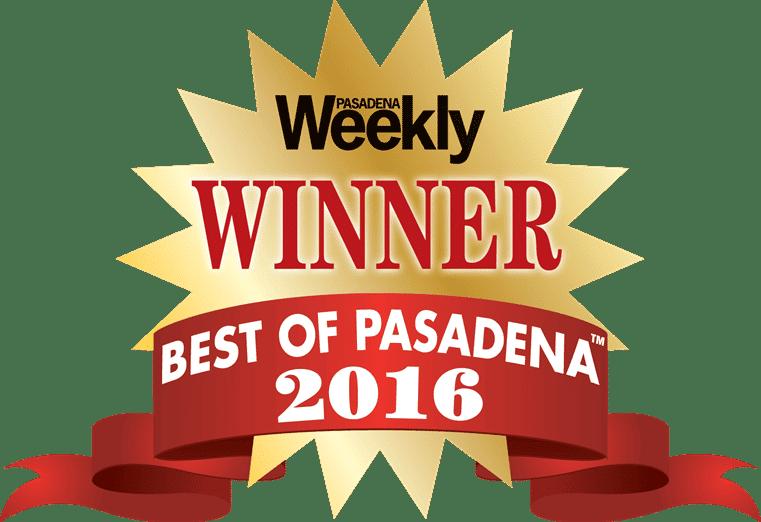 best of pasadena award