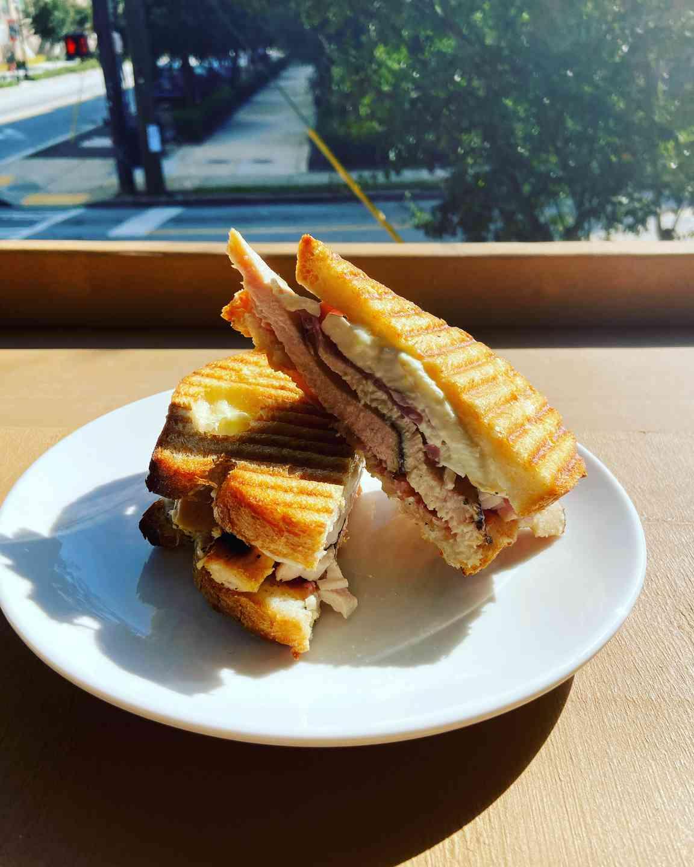 White Stripes Sandwich