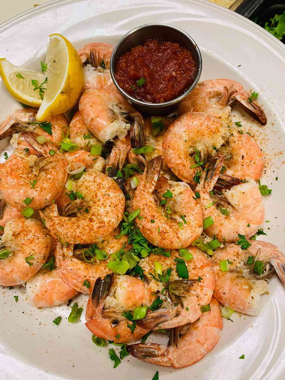 1/2 Lb Steamed Shrimp
