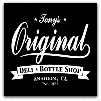 Tony's Original Deli & Bottle Shop Logo
