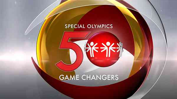 Special Olympics logo with ESPN logo