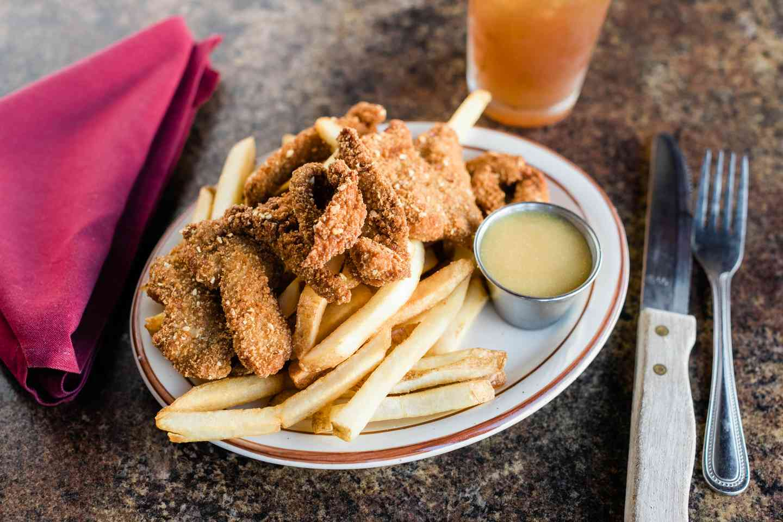 Fried Duck Strips