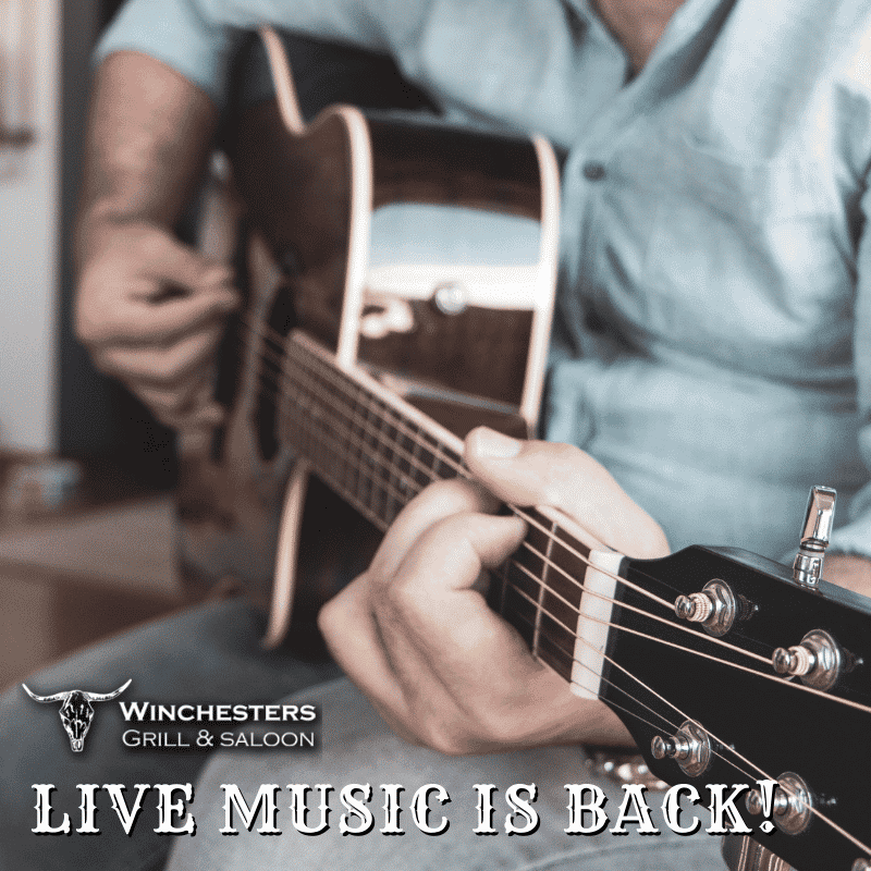 live music is back