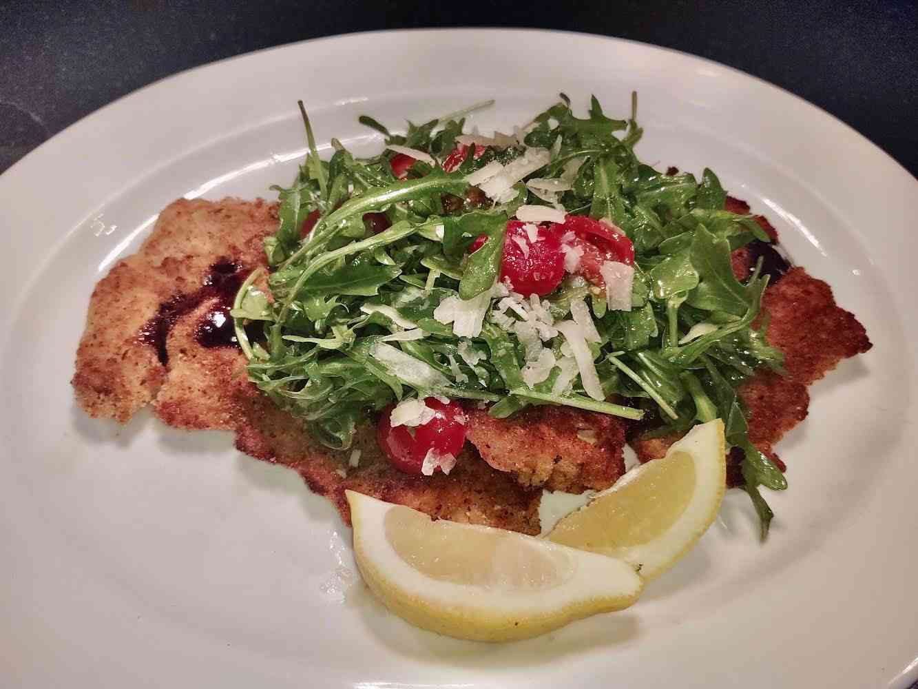 Lightly Breaded Veal or Chicken Cutlets
