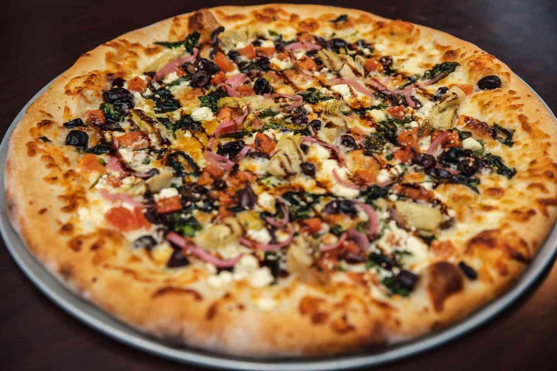The Greek Pizza