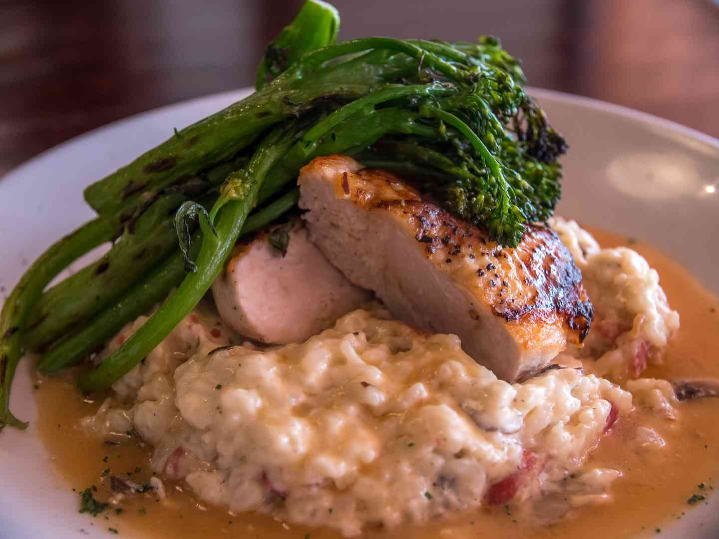 Statler Chicken Risotto