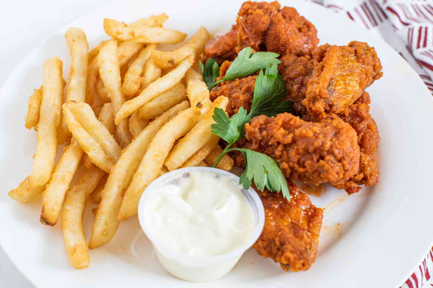 Buffalo Wing Combo (12 Pieces)