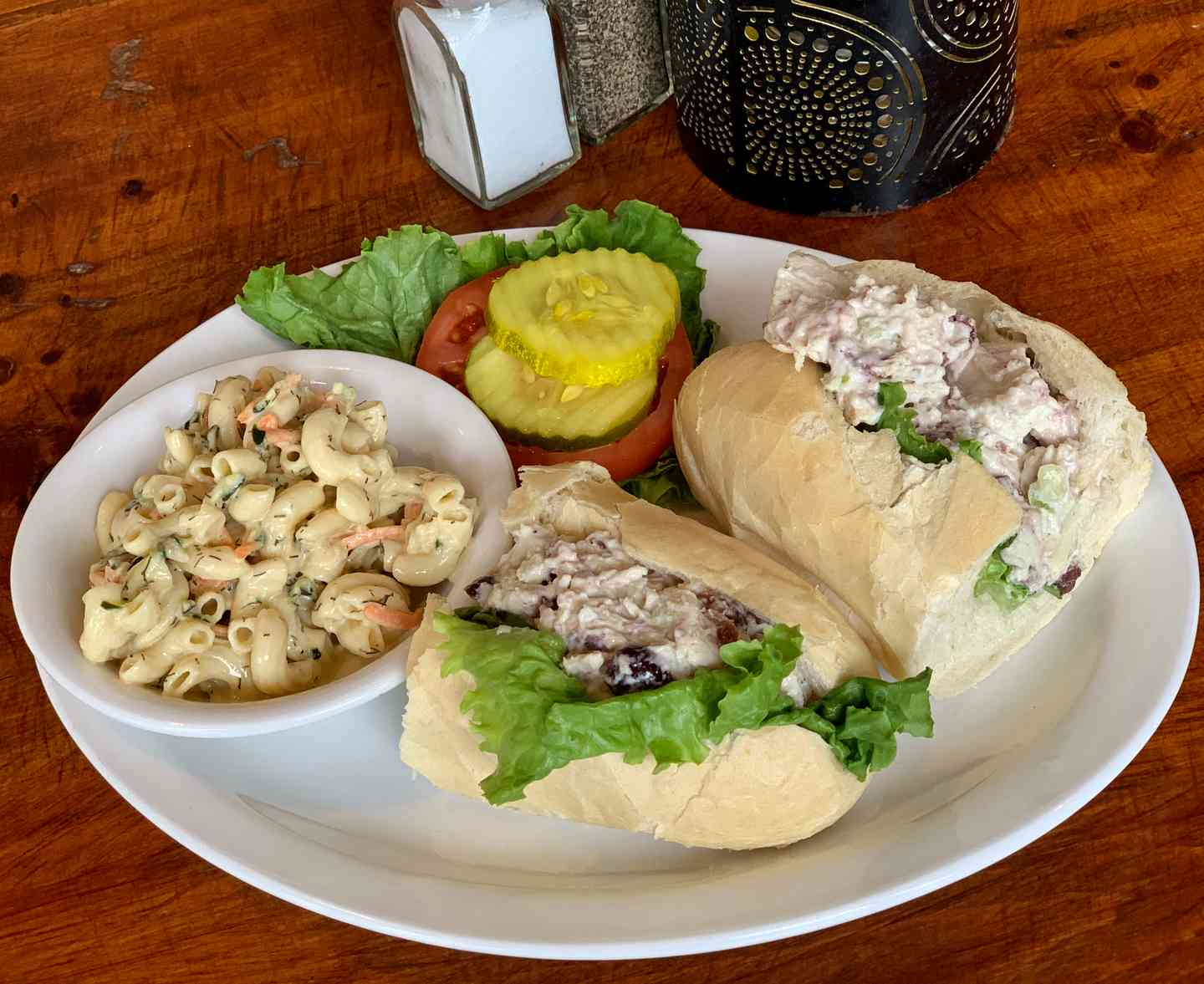 Cranberry Chicken Salad Roll