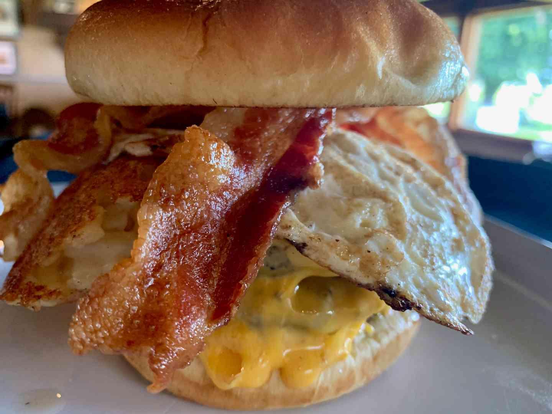 Double Breakfast Burger