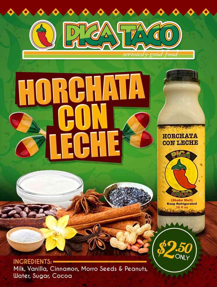 Horchata Con Leche