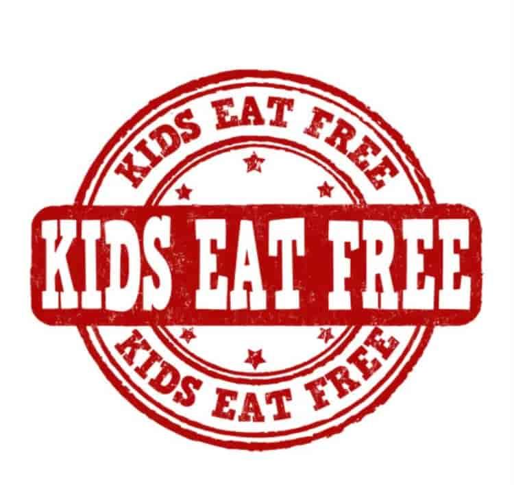 SUNDAY~KIDS EAT FREE