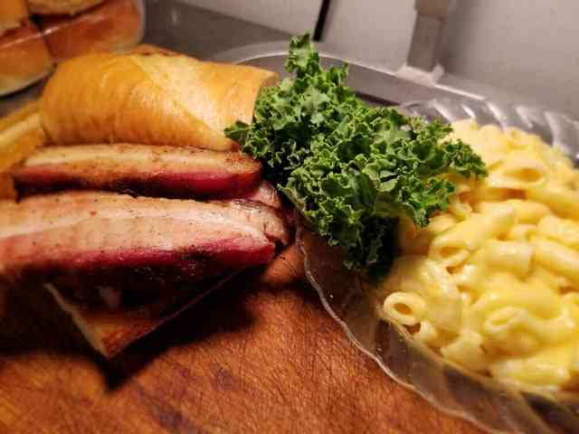Smoked Pork Belly Sandwich