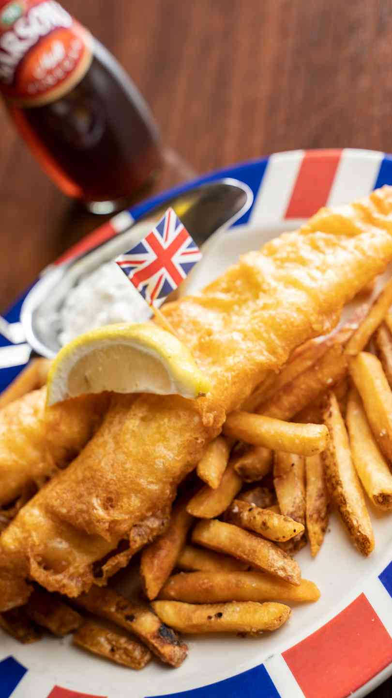 "British ""Beer"" Fish & Chips"