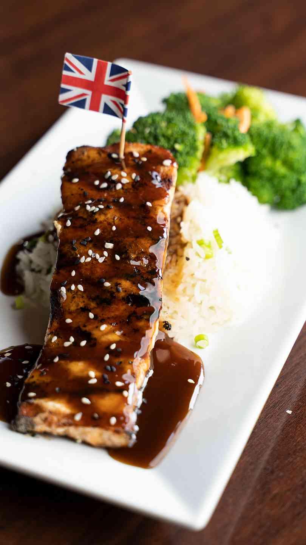 Kogi Teryaki Salmon