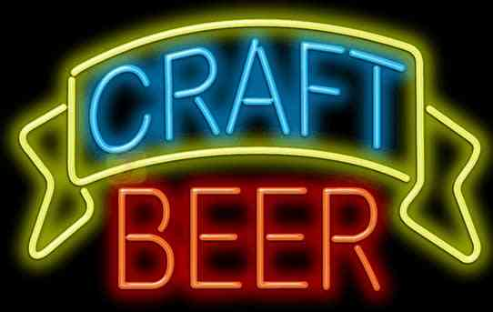 Craft Beers Available