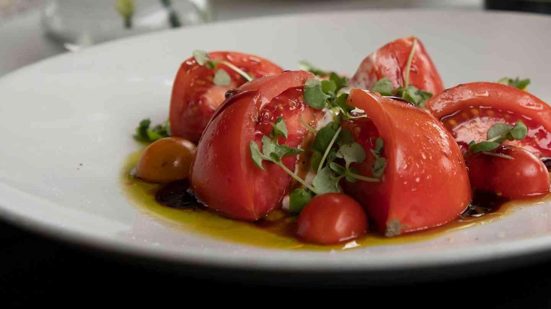 Buratta Caprese Salad