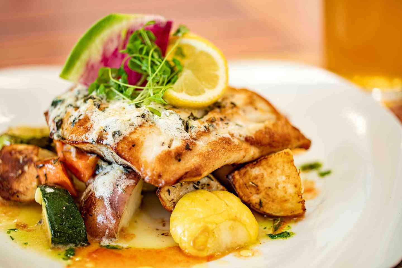 Seared Rockfish Limoncello*