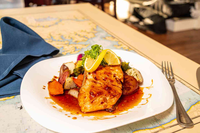 Maui Grilled Salmon