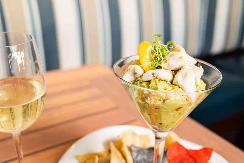 Lump Crab & Avocado Martini