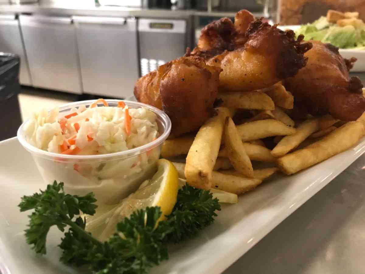 Atlantic Cod & Chips