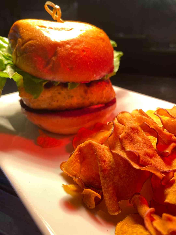 Salmon Burger