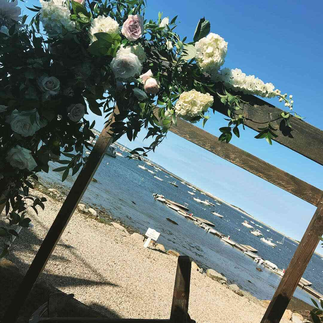 wedding vows area