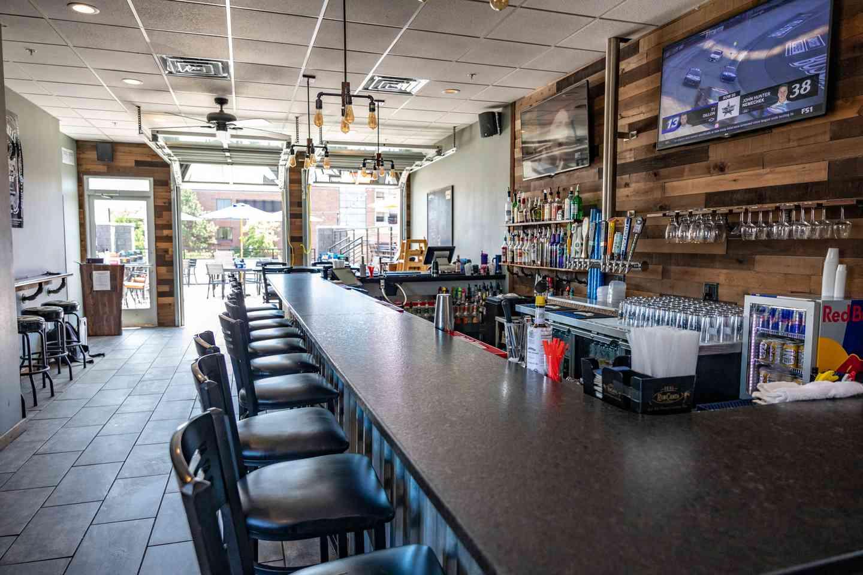 Upstairs Bar and Patio