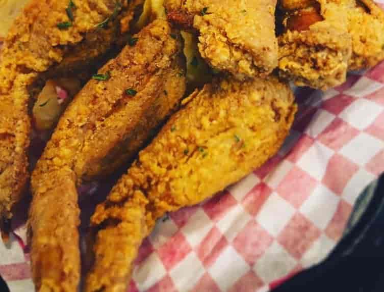 Boudin Stuffed Chicken Wings