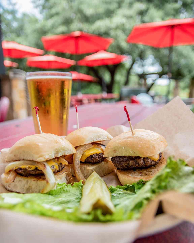 Doc's Mini Cheeseburger Sliders*