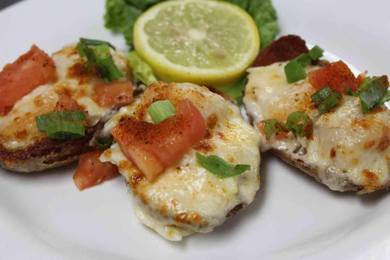 Schooners' Seafood Skins