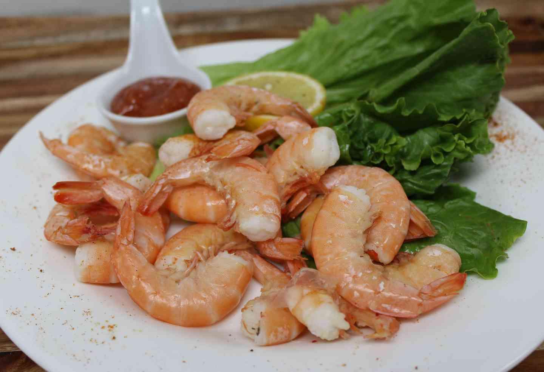 Spiced Steamed Shrimp