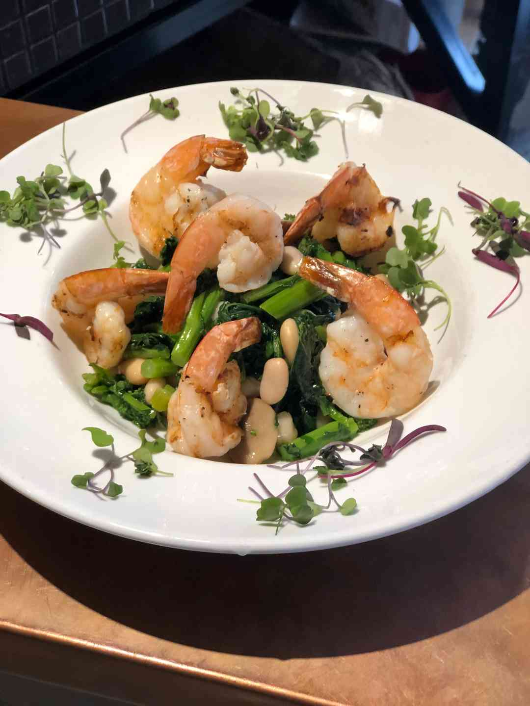 Grilled Tuscan Shrimp. GF