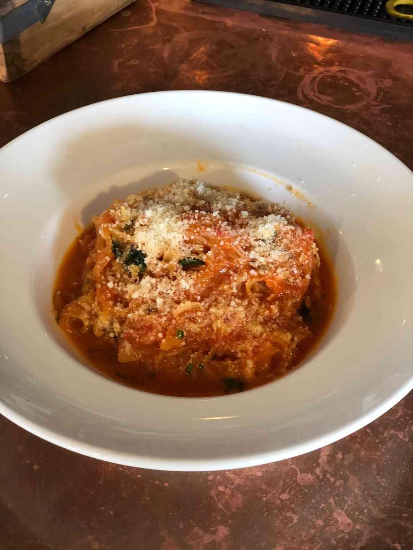 Spaghetti Squash Pomodoro. GF