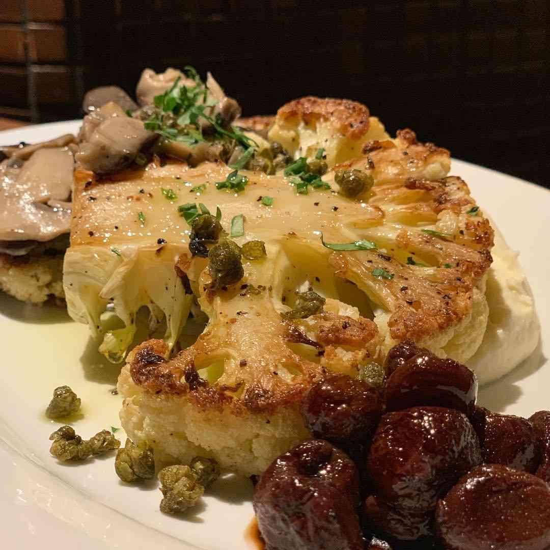 Cauliflower Steak. GF
