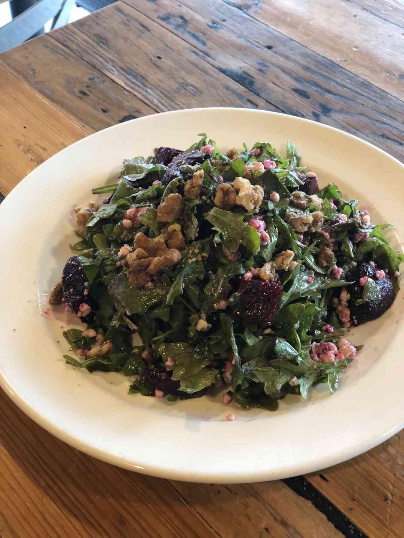 Arugula & Roasted Beet Salad. GF