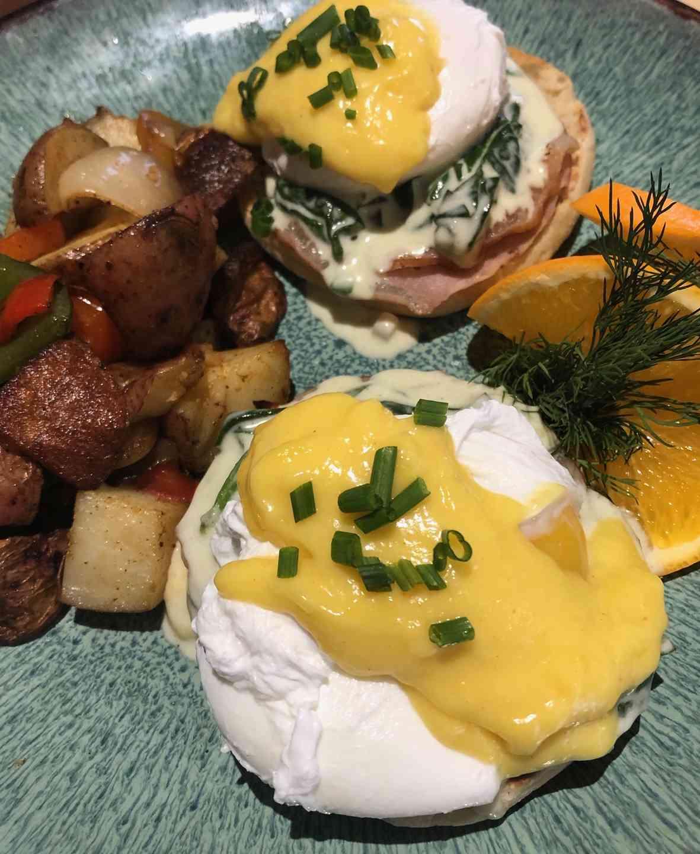 Stonefire Eggs Benedict