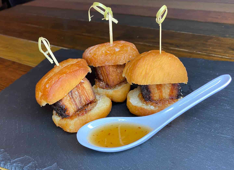 Pork Belly Donut Slides