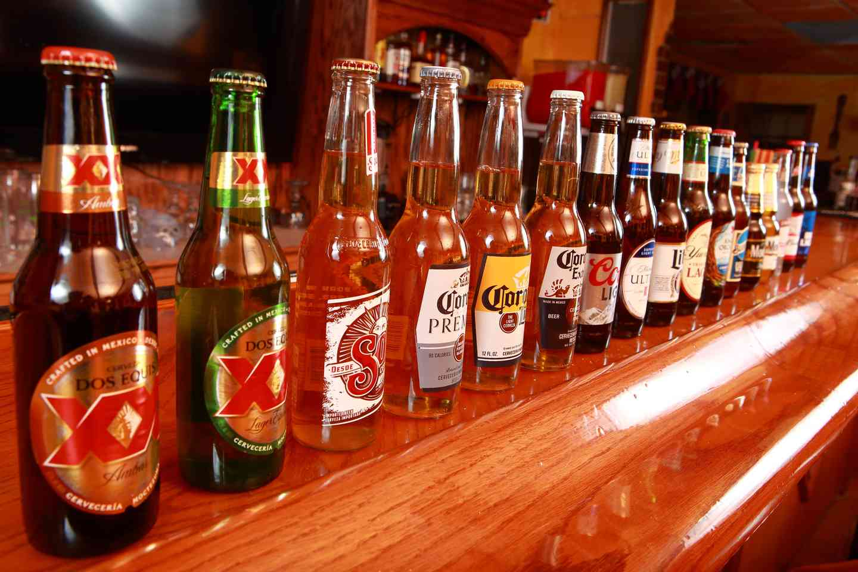 group of beers