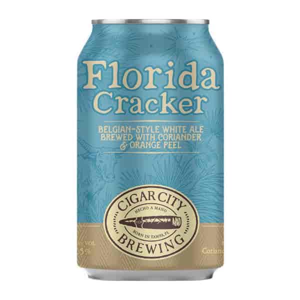 Cigar City Florida Cracker Belgian-Stlye White Ale (12oz. Can)